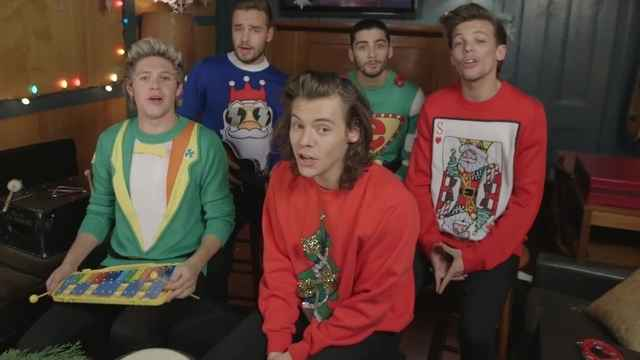Happy New Year From One Direction-One Direction