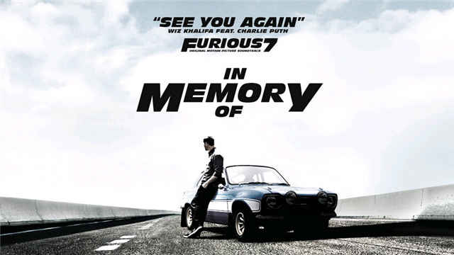 See You Again -- Wiz Khalifa & Charlie Puth
